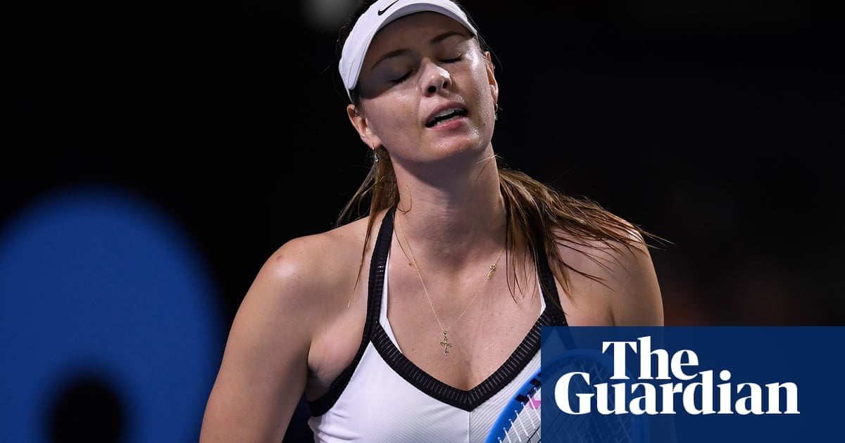 A second-hand event: Maria Sharapova questions Brisbane court allocation