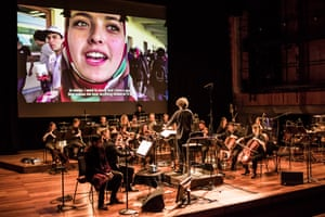 Aurora Orchestra, conducted by Nicholas Collon, give the world premiere of Du Yun's Where We Lost Our Shadows at the Queen Elizabeth Hall, London.