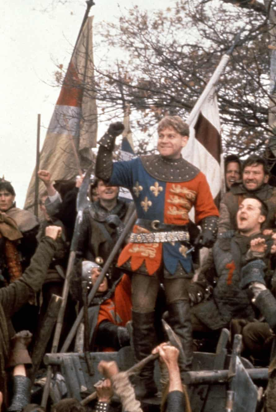 Branagh directed a big screen version of Henry V in 1989