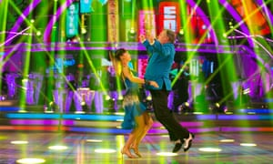 Now that we have seen it, we can never unsee it … Ed Balls and Katya Jones do Gangnam Style.