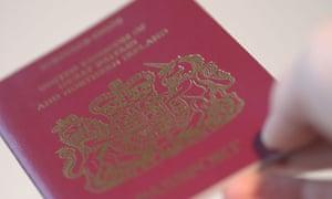 A Stock Photograph of a Passport