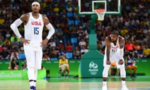 Carmelo Anthony and Kyrie Irving.
