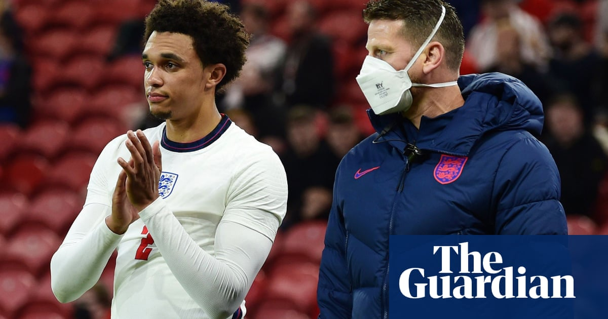 England's Trent Alexander-Arnold ruled out of Euro 2020 with thigh injury