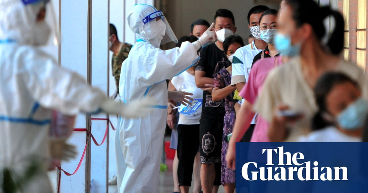 Cases double in new south-east China Covid outbreak linked to school