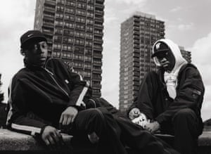 Dizzee Rascal And Wiley in east London, August 2002.