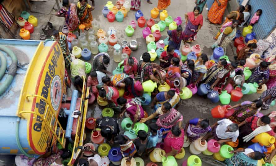 'Digitization doesn't just pose a risk to people. It also poses a risk to the planet. In India, more than half a billion people face water shortages.'