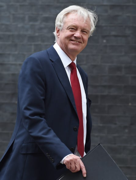 David Davis, secretary of state for exiting the European Union.