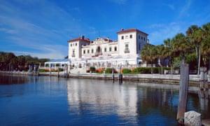 Villa Vizcaya Museum viewMiami Beach, United States.