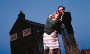 Tubbs (Steve Pemberton) and Edward (Reece Shearsmith) in The League of Gentlemen