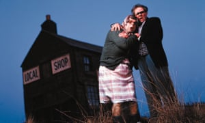 Steve Pemberton and Reece Shearsmith as Tubbs and Edward in The League Of Gentlemen