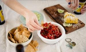 Red capsicum salsa