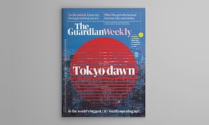 Tokyo dawn: the cover of the Guardian Weekly 14 June edition.