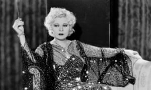 Mae West in Night After Night: always in control of her own image