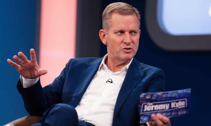 Jeremy Kyle on his ITV show.