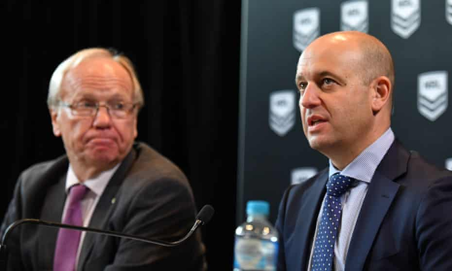 Todd Greenberg and Peter Beattie