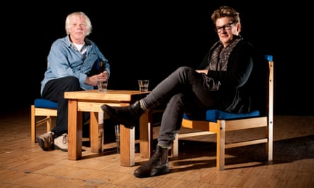 'He was such an astonishing writer …' the late Mal Peet, with author and friend Meg Rosoff.