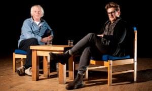 Same values, humour, cheerful pessimism … Mal Peet and Meg Rosoff in 2007.