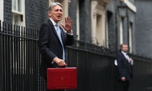 Philip Hammond leaves 11 Downing Street