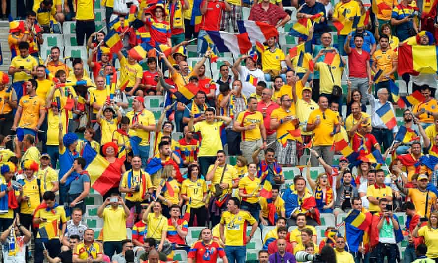 France v Romania, the first game of the Euro 2016 tournament