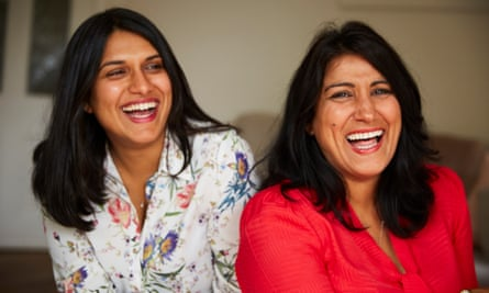 Jasvinder Sanghera (right), who refused a forced marriage as a teenager, with her daughter Natasha.