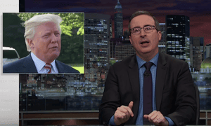 John Oliver on Donald Trump and Puerto Rico: 'How are you even trying to take a victory lap right now?'
