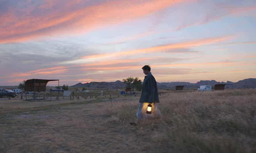 Frances McDormand in Nomadland, directed by Chloé Zhao.