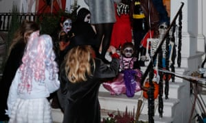 Trick or treat at Halloween