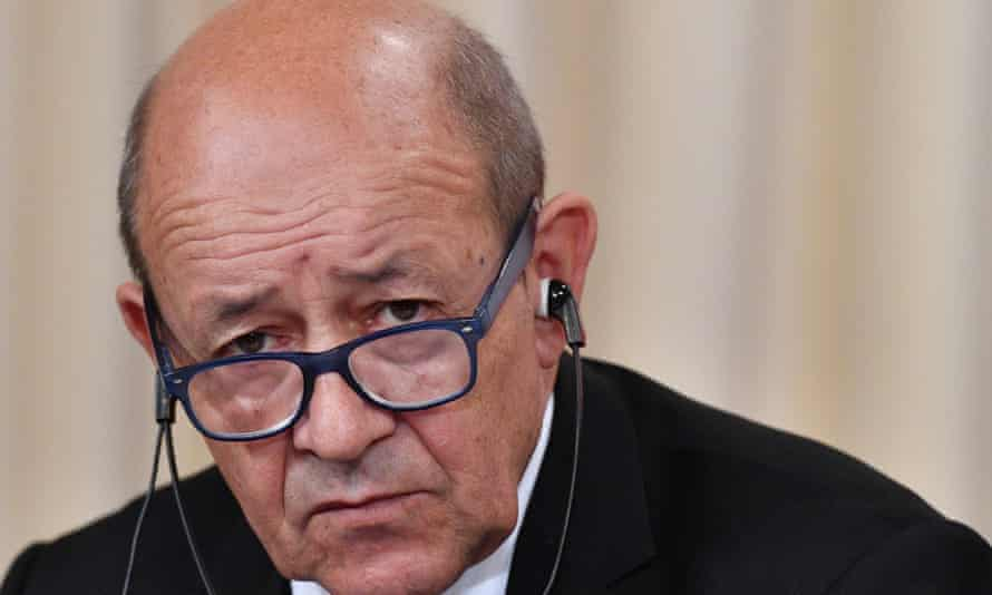The French foreign minister, Jean-Yves Le Drian, said the North Korea crisis showed the importance of upholding the Iran nuclear agreement.