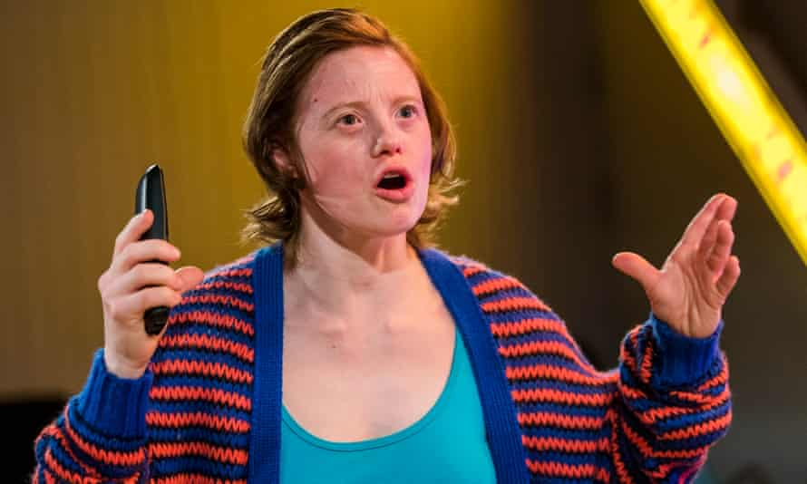 'It's a tricky, knotty play' … Sarah Gordy as Kelly in Jellyfish.