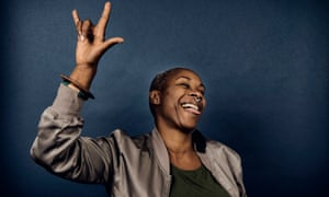 Josette Bushell-Mingo,photographed at the University of Coventry for the Observer