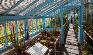 Greenhouse at Down House, Kent (Darwin's House)