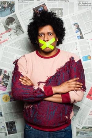 Javier, a Nicaraguan journalist and asylum seeker