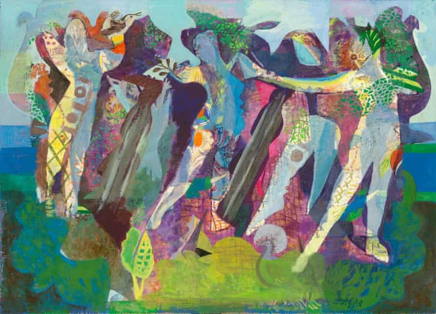 Dance of Peace by Eileen Agar, 1945.