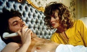 Donald Sutherland and Julie Christie in Roeg's classic thriller Don't Look Now.