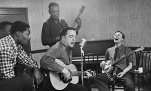 Alan Lomax and Pete Seeger