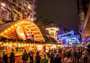Birmingham's huge Frankfurt-themed Christmas market.