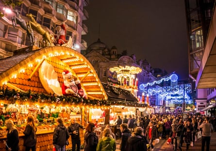 Birmingham's huge Frankfurt-themed Christmas market.