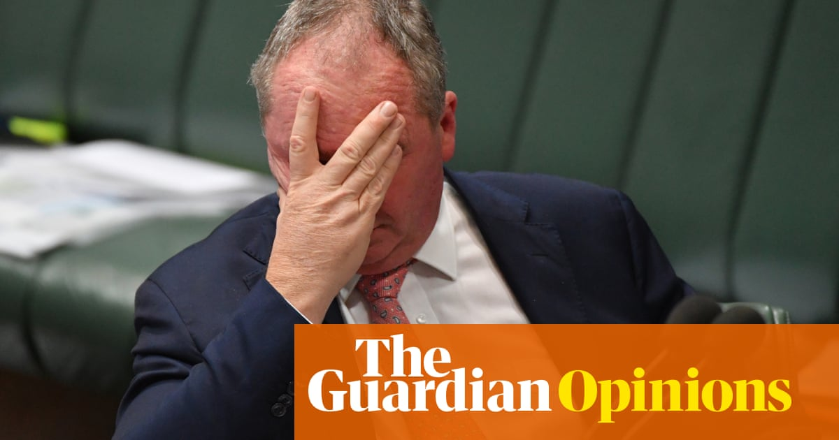 We've ridden Barnaby's boom bust cycle before. God knows what's to come