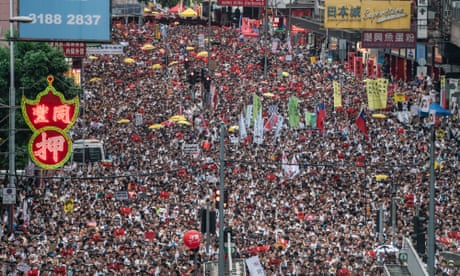 Hong Kong protests – in pictures