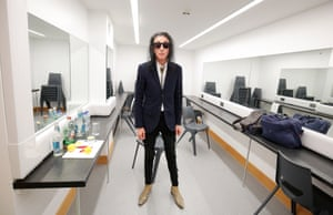 Dr John Cooper Clarke backstage before his show at Middleton Hall at the University of Hull