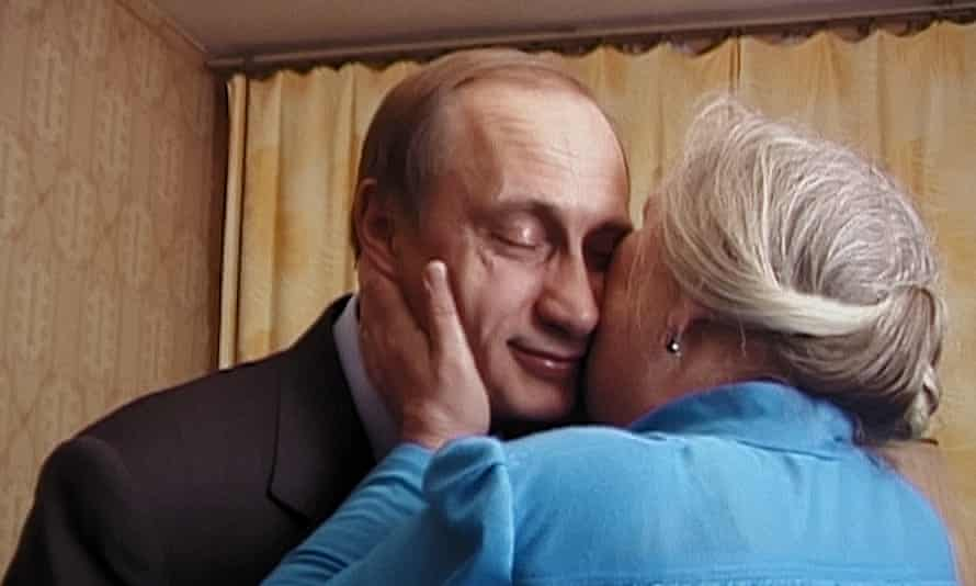 Vladimir Putin on the campaign trail in 1999-2000 in Vitaly Mansky's Putin's Witnesses.