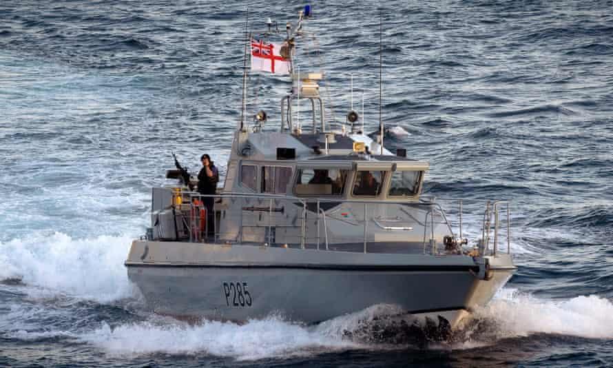 HMS Sabre Patrol Boat based in Gibraltar