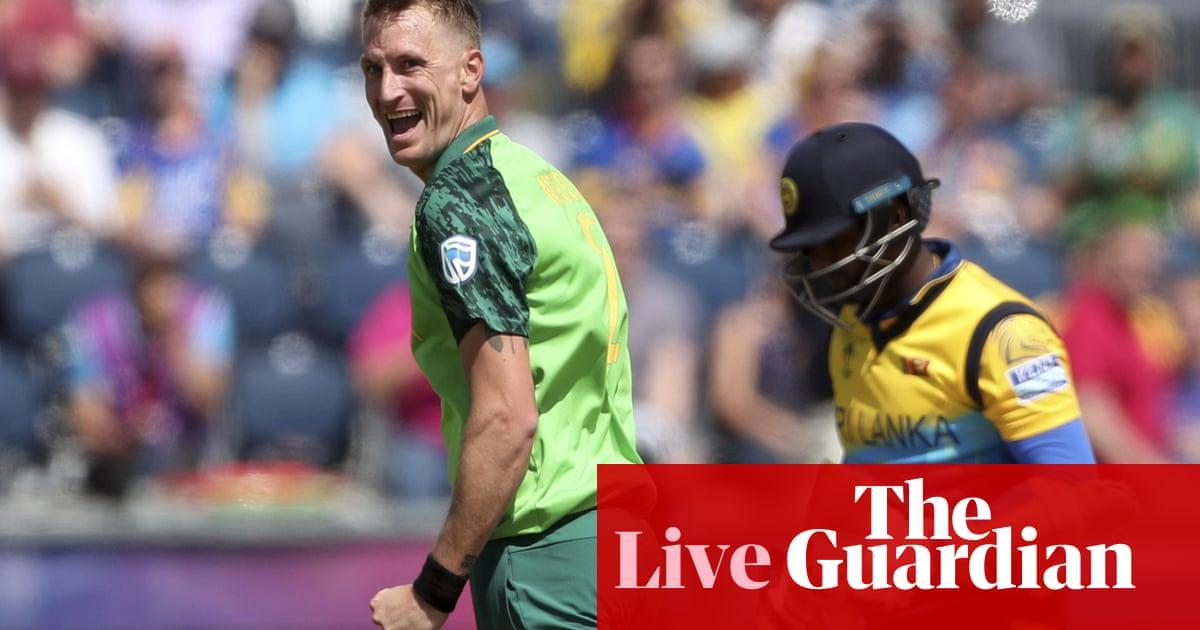 Sri Lanka vs South Africa: Cricket World Cup 2019 – Live! | Game – tocuz