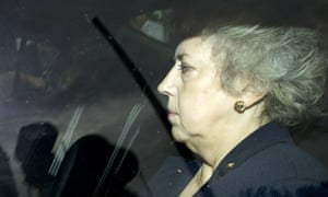 Eliza Manningham-Buller leaving the Chilcot inquiry after giving evidence in 2010.