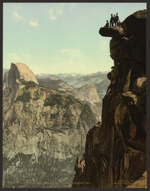 Glacier Point and South Dome, Yosemite valley, California
