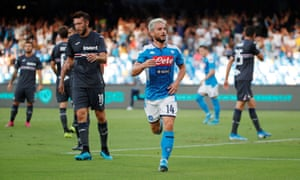 Dries Mertens has scored three goals in as many games this season.