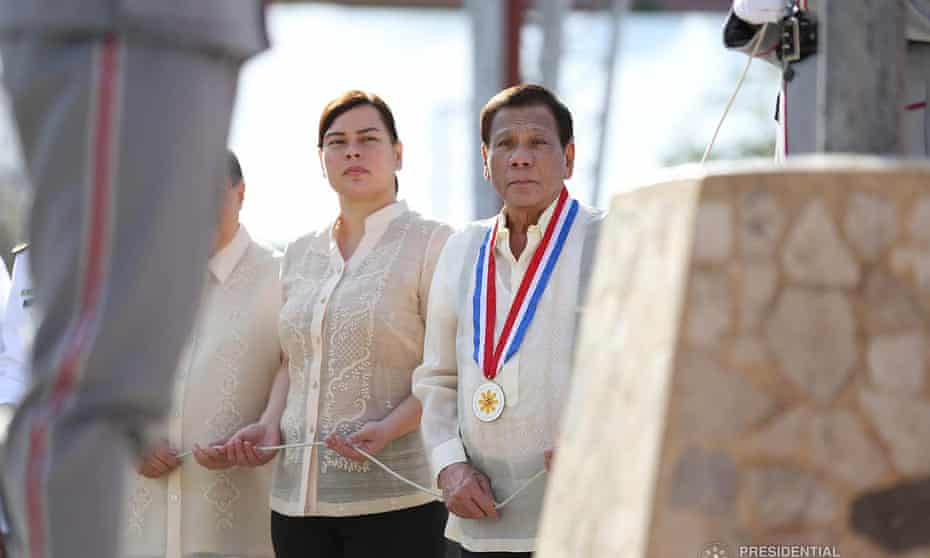 Sara Duterte and her president father Rodrigo could both run in the 2022 election under separate tickets