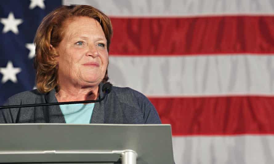 Voter suppression tactics alone may have prevented the North Dakota senator Heidi Heitkamp from winning re-election.