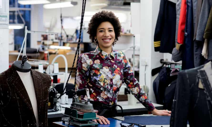 Zee Mészáros will become a tailor at the end of her apprenticeship