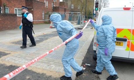 Police link four 'random' stabbings in north London
